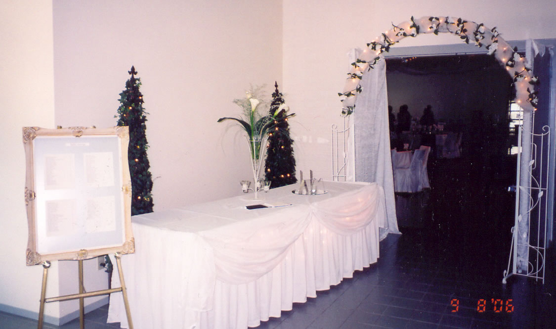 WEDDING RENTALS AND D COR YOUR FULL SERVICE RENTAL STORE